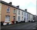 ST3089 : Wheelie bins, Power Street, Newport by Jaggery