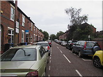 SJ8889 : On-street parking, Robinson Street, Edgeley, Stockport by Jaggery