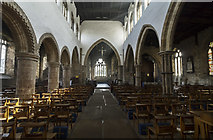 TA0322 : Interior, St Mary's church, Barton-Upon-Humber by J.Hannan-Briggs