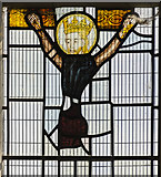 TA0322 : Detail of east window, St Mary's church, Barton-Upon-Humber by Julian P Guffogg
