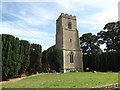 TL9176 : St.Peter's Church, Fakenham Magna by Adrian Cable