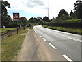 TL9176 : A1088 Thetford Road, Fakenham Magna by Adrian Cable