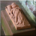 NY5563 : Tomb effigy of Elizabeth Dacre Howard, Lanercost Priory by Karl and Ali