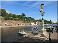 SX9292 : River Exe by the Ferry by Des Blenkinsopp