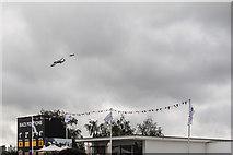 SU8707 : Battle of Britain Memorial Flight at Goodwood Revival 2016 by Christine Matthews