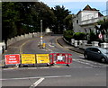 SZ0990 : Diversion - road ahead closed, Bournemouth by Jaggery