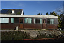 SX4563 : Rail Carriage at Bere Ferrers by N Chadwick