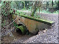 SK3839 : Ferriby Brook culvert under the Great Northern Greenway by Ian Calderwood