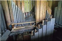 TA0015 : Organ internals, St Andrew's church, Bonby by J.Hannan-Briggs