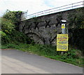 ST3188 : Strictly no parking - private railway property, Newport by Jaggery