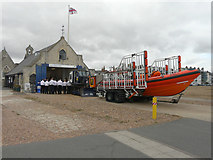 TR3751 : Sunday service, Walmer Lifeboat Station by John Baker
