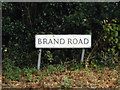 TL9067 : Brand Road sign by Adrian Cable