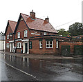 TL9370 : The Greyhound Public House, Ixworth by Adrian Cable
