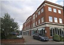 TQ2688 : New block on Lyttleton Road, Hampstead Garden Suburb by David Howard