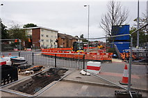 TA0828 : Roadworks on Anlaby Road, Hull by Ian S