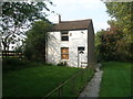 SD8405 : Isolated house near Rhodes Green by John Slater