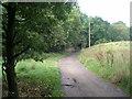 SD8708 : Oaken Bank Road east of Hopwood Hall by John Slater