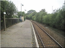 SW9961 : Roche railway station, Cornwall by Nigel Thompson