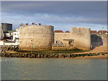 SZ6299 : The Round Tower, Portsmouth by Robin Webster