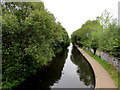 SP0482 : Worcester & Birmingham canal and path, Selly Oak by Jaggery