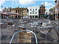 SK7953 : The market place in Newark-on-Trent by Mat Fascione