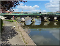 SK7954 : Trent Bridge in Newark-on-Trent by Mat Fascione