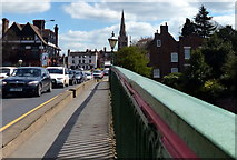 SK7954 : Traffic crossing Trent Bridge by Mat Fascione