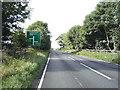 NY2747 : A595 heading south west by JThomas