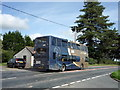 NY2247 : Double decker bus, Waverton by JThomas