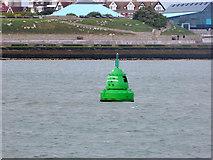 SZ6497 : Castle buoy by Robin Webster