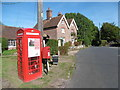 TQ7035 : Telephone box at Kilndown by Marathon
