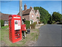 TQ7035 : Telephone box at Kilndown by Marathon