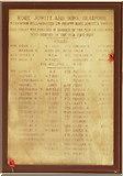 SE2837 : War memorial in the former Highbury Works, Meanwood, Leeds by Humphrey Bolton