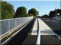 SJ7952 : Alsager Road crossing the A500 by Jonathan Hutchins