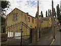 SE1636 : Former St Laurence church, Bolton Hall Road by Stephen Craven