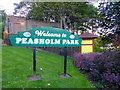 TA0389 : Peasholm Park Sign by PAUL FARMER