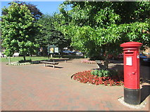 SU7682 : Red pillar box, Henley-on-Thames by Peter S