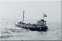 SN1300 : Tenby, pleasure boat by Alan Hunt