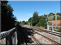 TQ5335 : View from a railway foot crossing over the Spa Valley Railway by Marathon