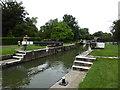 SP4408 : Eynsham Lock, near Swinford by Vieve Forward