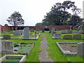 TA1180 : Graveyard at St Oswald's Church, Filey by PAUL FARMER