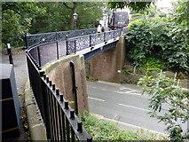TA1181 : Church Bridge over Ravine Road, Filey by PAUL FARMER