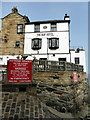 NZ9504 : The Bay Hotel, Robin Hood's Bay by PAUL FARMER