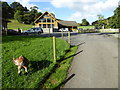 SO2476 : At Black Hall Lodges near Llanfair Waterdine by Jeremy Bolwell