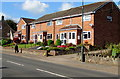 SO6101 : Brick houses in Aylburton by Jaggery