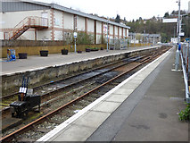 NM8529 : Oban railway station and ferry terminal by Thomas Nugent