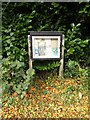 TM1485 : Gissing Village Notice Board by Adrian Cable