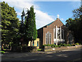 SE2836 : St Urban's church, Grove Lane, Headingley by Stephen Craven