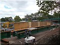 ST3085 : Maesglas Road bridge reconstruction(9) by Robin Drayton