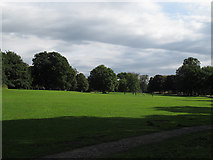 SE2837 : Open space in Meanwood Park by Stephen Craven